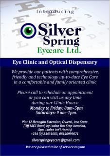 Silverspring Eye Clinic Owerri